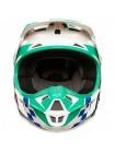 Кроссовый детский мотошлем Fox V1 Sayak Green