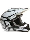 Кроссовый шлем THH TX-12 Белый/Черный