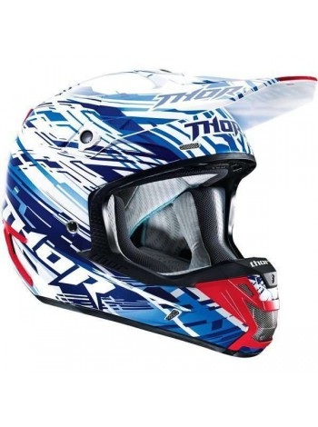 Шлем кроссовый Thor S4 Verge Twist