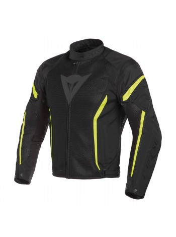 Мужская куртка Dainese AIR CRONO 2 Черно-желтая
