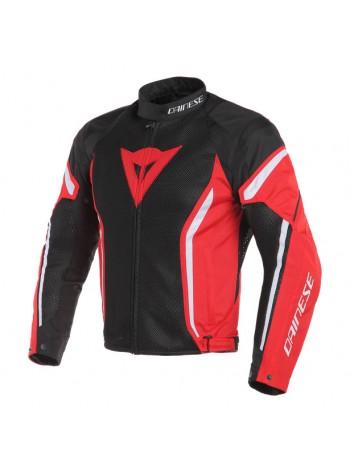 Мужская куртка Dainese AIR CRONO 2 Черно-красная