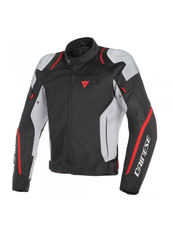 Мужская куртка Dainese AIR MASTER TEX JACKET Черно-красно-белая