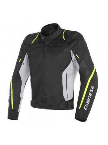 Мужская куртка Dainese AIR MASTER TEX JACKET Черно-желтая