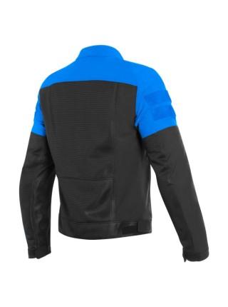 Мотокуртка мужская текстильная Dainese AIR-TRACK TEX JACKET Черно-синяя