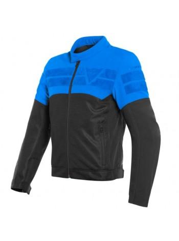 Мужская куртка Dainese AIR-TRACK TEX JACKET Черно-синяя