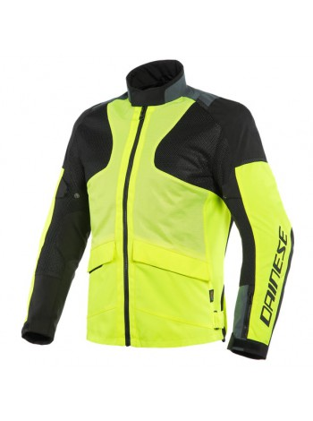 Мужская куртка Dainese AIR TOURER TEX Fluo-Yellow/Ebony/Black