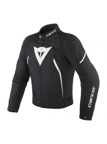 Мужская куртка Dainese AVRO D2 TEX JACKET черно-белая