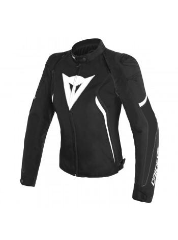 Женская куртка Dainese AVRO D2 TEX JACKET черно-белая