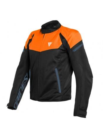 Мужская куртка Dainese BORA AIR TEX Flame-Orange/Black-Iris/Black