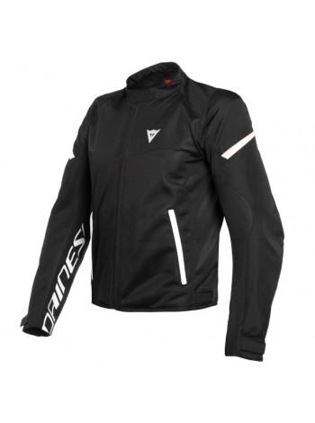 Мужская куртка Dainese BORA AIR TEX JACKET черно-белая