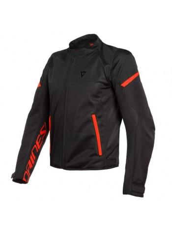 Мужская куртка Dainese BORA AIR TEX JACKET черно-красная