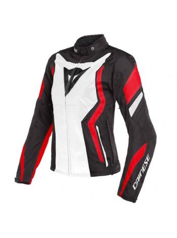 Женская куртка Dainese Edge Tex Jacket Черно-красная