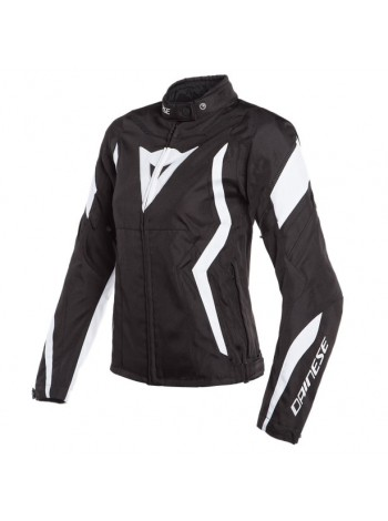Женская куртка Dainese Edge Tex Jacket Черно-белая
