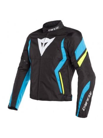 Мужская куртка Dainese Edge Tex Jacket Черно-голубая