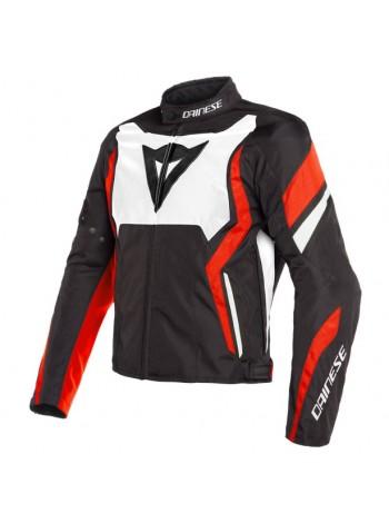 Мужская куртка Dainese Edge Tex Jacket Черно-бело-красная