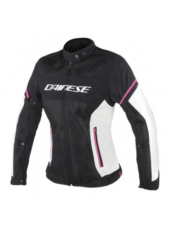 Женская куртка Dainese AIR FRAME D1 Черно-розовая