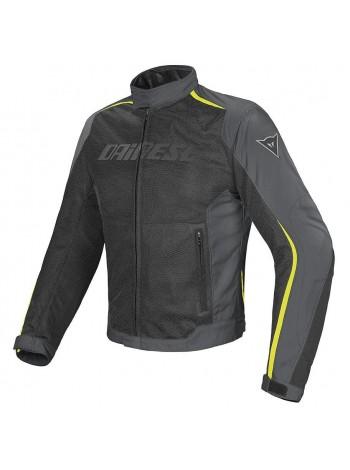 Мужская куртка Dainese HYDRA FLUX D-DRY Черно-желтая