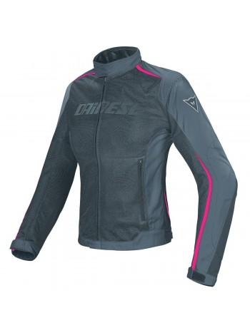 Женская куртка Dainese HYDRA FLUX D-DRY Черно-розовая