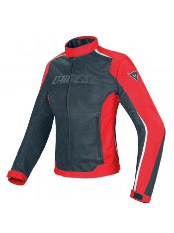Женская куртка Dainese HYDRA FLUX D-DRY Черно-красная