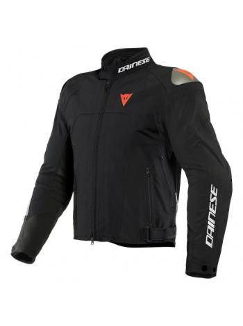 Мужская куртка Dainese INDOMITA D-DRY XT Black-Matt/Black-Matt/Fluo-Red