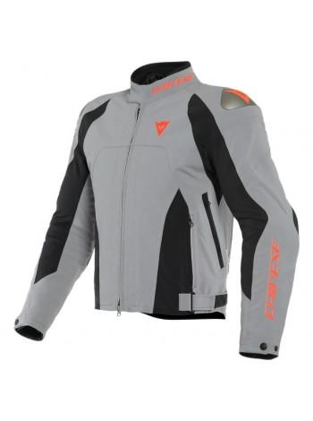 Мужская куртка Dainese INDOMITA D-DRY XT Frost-Gray/Black-Matt/Fluo-Red