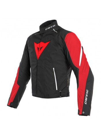 Мужская куртка Dainese LAGUNA SECA 3 D-DRY JACKET LAVA-RED/BLACK/WHITE