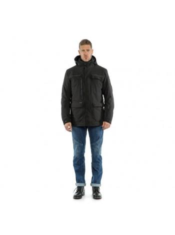 Мужская куртка Dainese MILANO D-DRY Ebony/Black/Black