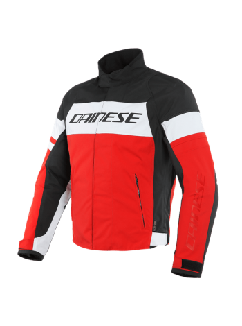 Мужская куртка Dainese SAETTA D-DRY JACKET Black-Red