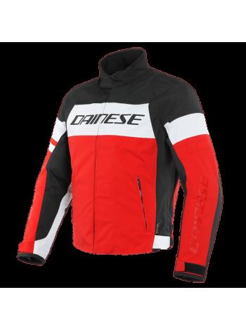 Мужская куртка Dainese SAETTA D-DRY JACKET Black-Red