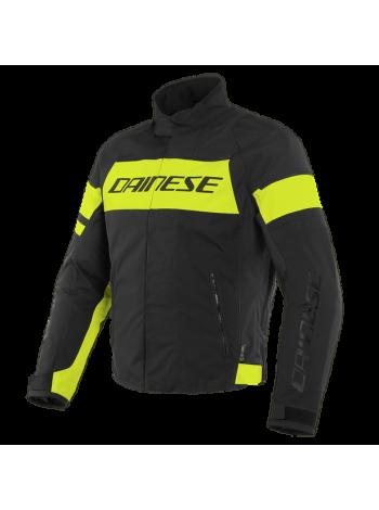 Мужская куртка Dainese SAETTA D-DRY JACKET Black-Yellow