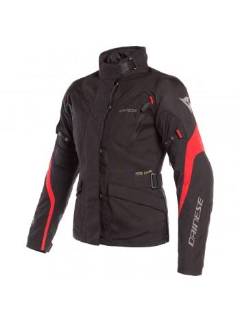 Женская куртка Dainese TEMPEST 2 LADY D-DRY Черно-красная