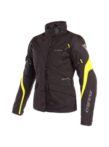 Женская куртка Dainese TEMPEST 2 LADY D-DRY Черно-желтая