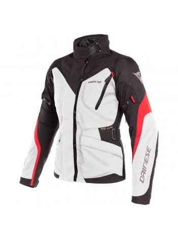 Женская куртка Dainese TEMPEST 2 LADY D-DRY Черно-красно-белая