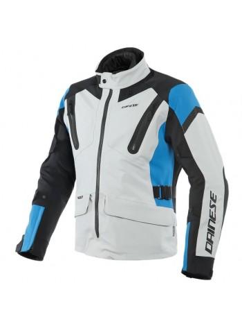 Мужская куртка Dainese TONALE D-DRY Glacier-Gray/Performance-Blue/Black