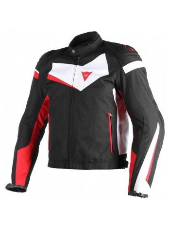 Мужская куртка Dainese VELOSTER TEX Black-White-Red