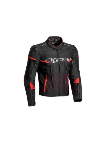 Куртка текстильная мужская Ixon Sirocco Black-red