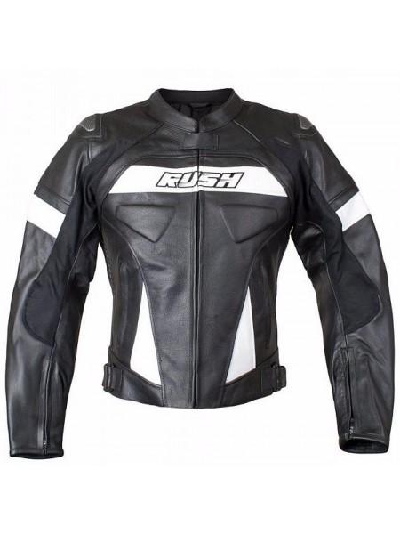 Кожаная мотокуртка Rush Cyborg