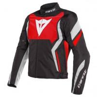 Мотокуртка мужская текстильная Dainese Edge Tex Jacket Черно-красная