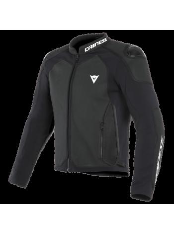 Куртка кожаная Dainese INTREPIDA PERFORATED Black-Matt