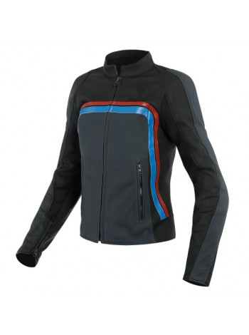 Женская куртка Dainese LOLA 3 LADY Black/Ebony/Red/Blue