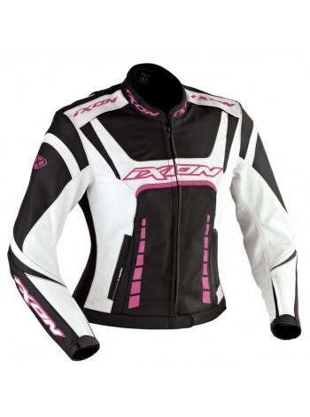 Куртка женская кожаная  Ixon Fulgura Fuschia