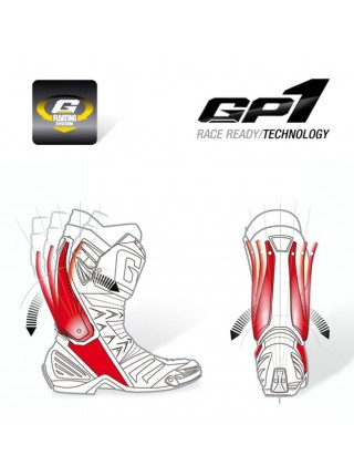 Мотоботы Gaerne GP1 Air White