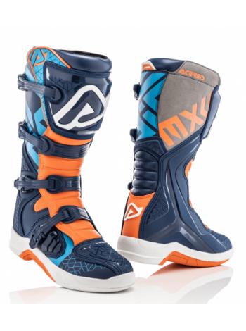 Мотоботы кроссовые Acerbis X-TEAM Blue/Orange