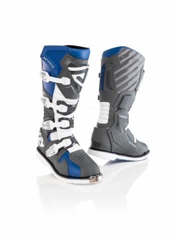 Мотоботы кроссовые Acerbis X-RACE Blue/Grey