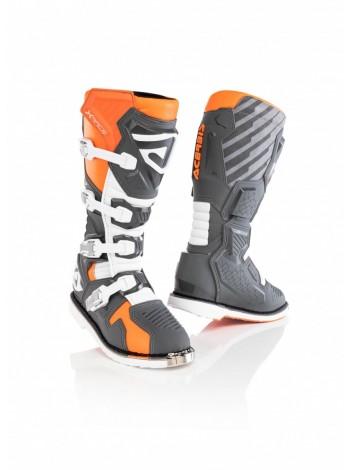 Мотоботы кроссовые Acerbis X-RACE Orange/Grey