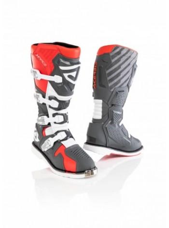 Мотоботы кроссовые Acerbis X-RACE Red/Grey