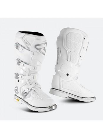 Мотоботы кроссовые Acerbis X-ROCK MM White