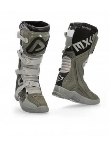 Мотоботы кроссовые Acerbis X-TEAM Brown/Grey
