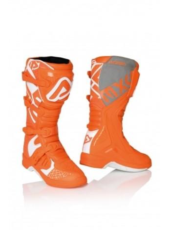 Мотоботы кроссовые Acerbis X-TEAM Orange/White