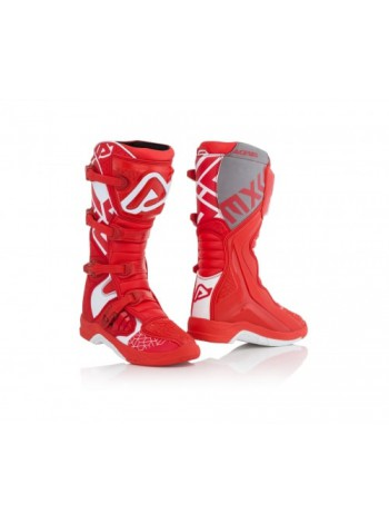 Мотоботы кроссовые  Acerbis X-TEAM Red/White